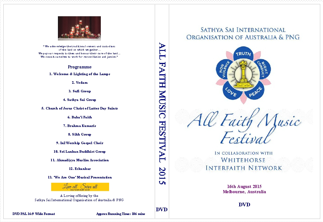 ALL FAITH MUSIC FESTIVAL 2015 DVD COVER