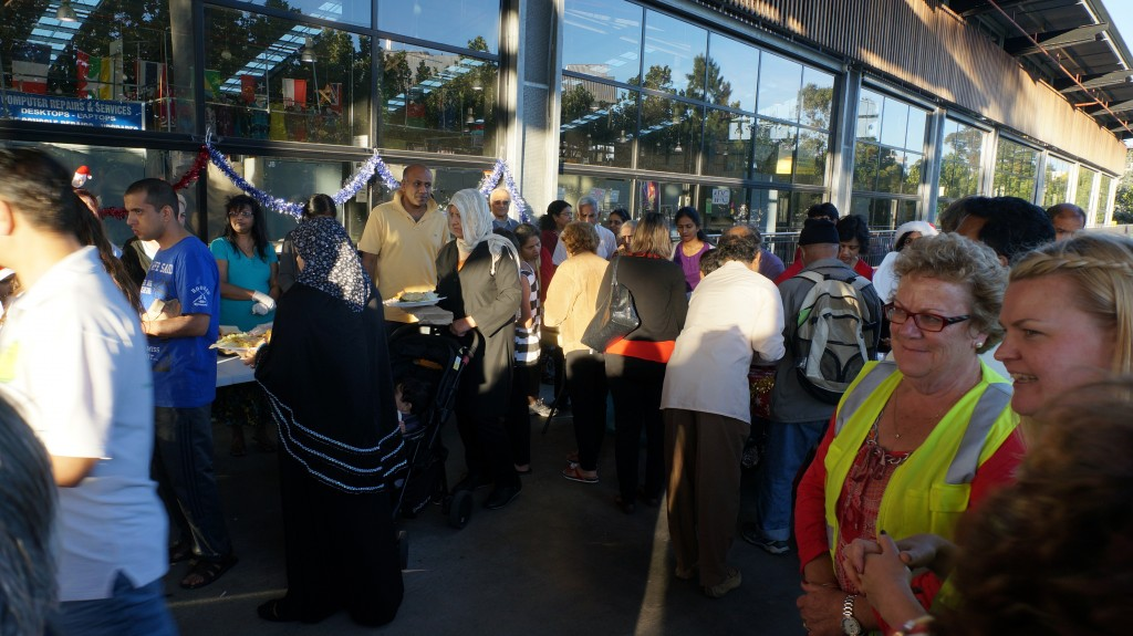 Food Service to the needy and homeless, Dandenong, Victoria
