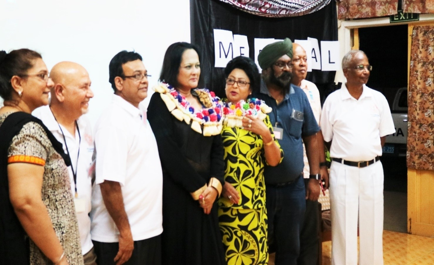 Medical Conference in Labasa – Ministers and representatives of the Team